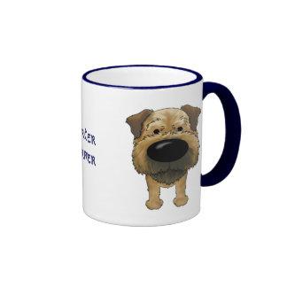 Big Nose Border Terrier Coffee Mugs