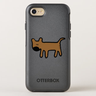 big nose brown dog OtterBox symmetry iPhone 7 case