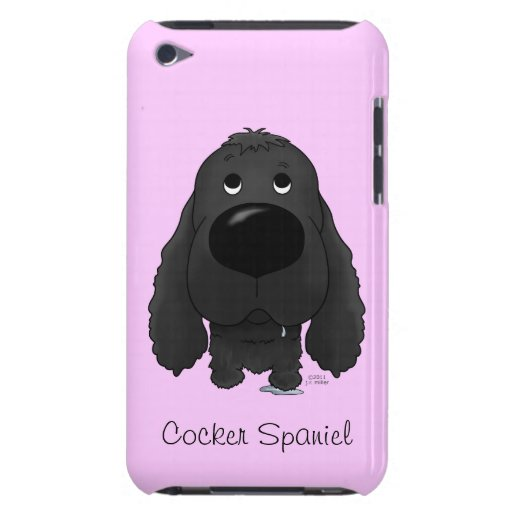 Big Nose Cocker Spaniel iPod Touch Case