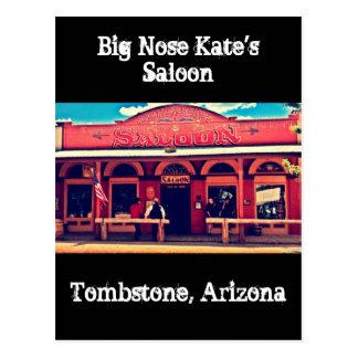 Big Nose Kate's Saloon Tombstone Arizona Post Card