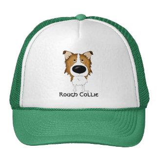 Big Nose Rough Collie Hats