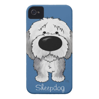 Big Nose Sheepdog iPhone 4 Case-Mate Case