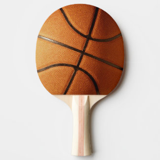 Big Orange Basketball,. Ping Pong Paddle