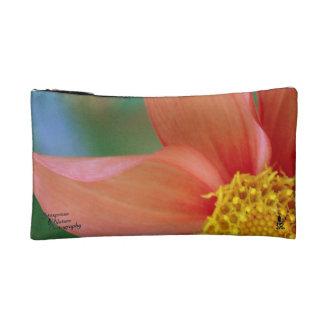 Big Orange Leaf & Twist Lily Sm. Cosmetic Bag 2.0