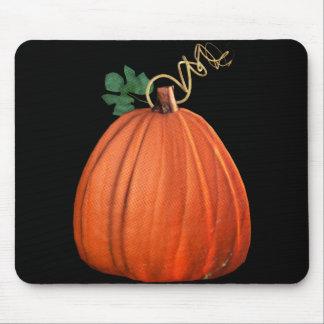 Big Orange Whimsical Pumpkin Mousepad