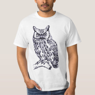 BIG OWL Front T-Shirt