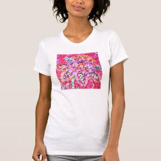 Big paisley flower t-shirt XL