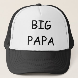 big papa trucker hat