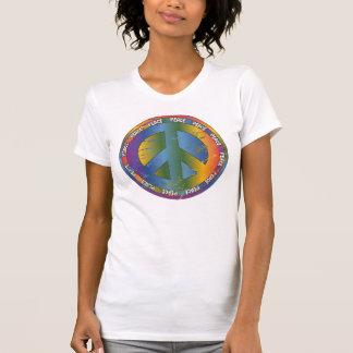 Big Peace Symbol Tshirt