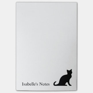 Big personalized Post-it® notes for cat lover