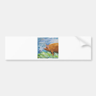 Big Pig gift Bumper Sticker