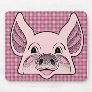 Big Pig Mouse Mat