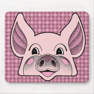 Big Pig Mouse Pad
