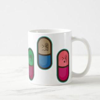 big pills cup basic white mug