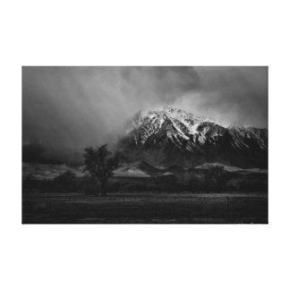 Big Pine California Canvas Print