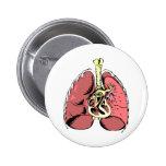 Big Pink Lungs Button