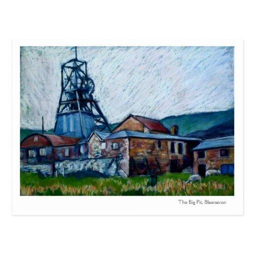 'Big Pit, Blaenavon', Wales Postcard