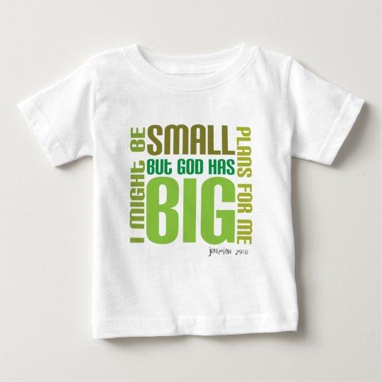 Big Plans Christian baby t-shirt