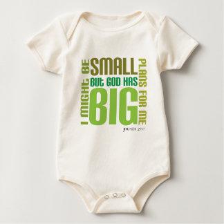 Big Plans Organic Christian baby creeper/vest Bodysuit