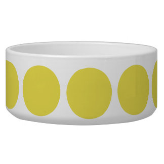 Big Polka Dots Dog Bowl