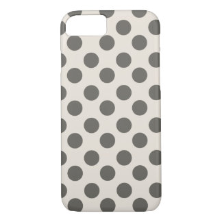 Big Polka Dots Pattern iPhone 8/7 Case