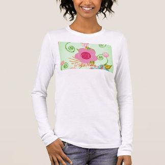 Big Princess Design Long Sleeve T-Shirt