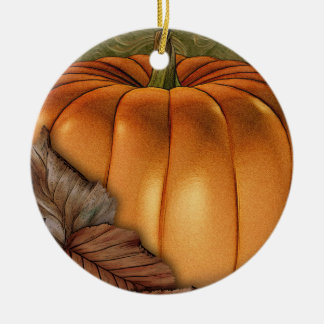 Big Pumpkin Personalized Ornament
