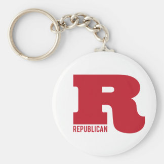 Big R - Republican Key Ring