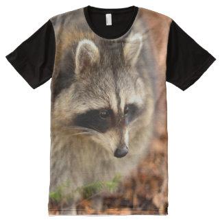 big raccoon All-Over print T-Shirt