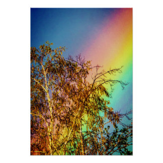 Big Rainbow Poster