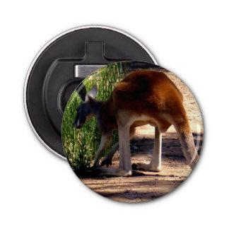Big Red Australian Kangaroo Magnetic Bottle Opener