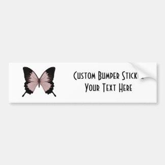 Big Red Black Butterfly Bumper Sticker
