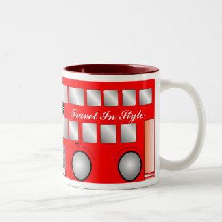Big Red Bus Mug
