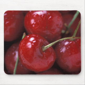 Big Red Cherries Mouse Mat
