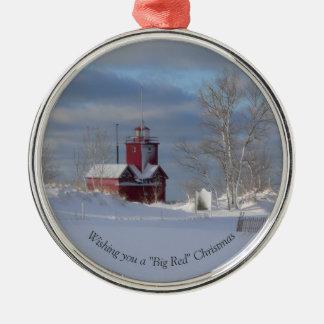 Big Red Christmas Ornament