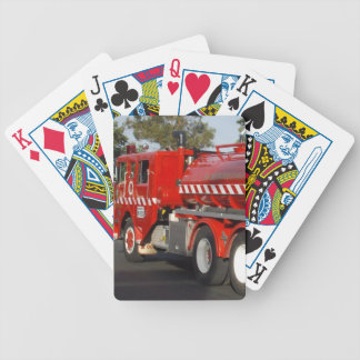 Big Red Fire Engine, Bicycle Playing Cards