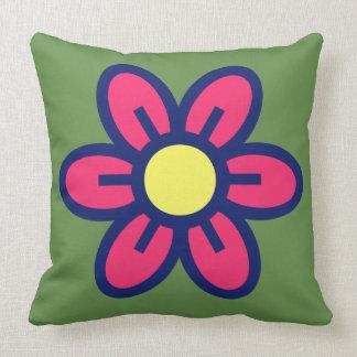 Big red flower cushion