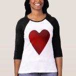 Big red heart | Valentines day T Shirt