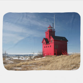 Big Red Lighthouse Pramblankets