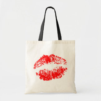 Big Red Lips Bags