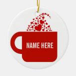 Big Red Mug Christmas Tree Ornament
