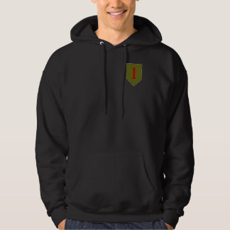 Big Red One, 1st ID Patch Hoodies