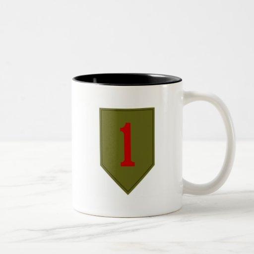 Big Red One, 1st ID Patch Mug
