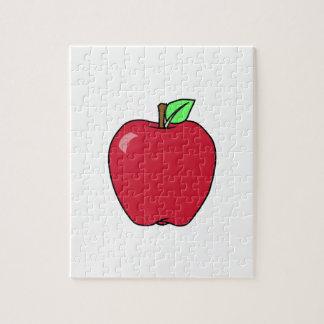 Big Red Ripe Apple Puzzles