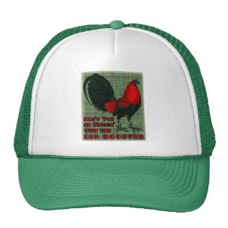 Big Red Rooster Mesh Hats