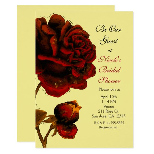 Big Red Rose & Yellow Any Colour Party