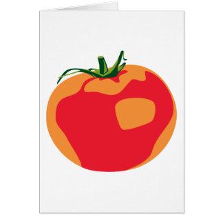 Big Red  Tomato Card