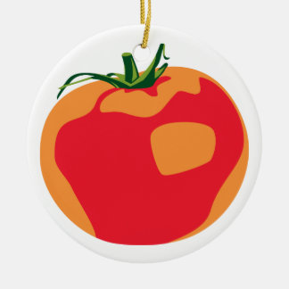 Big Red  Tomato Christmas Ornament