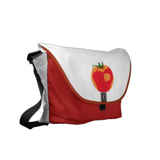 Big Red  Tomato Courier Bag
