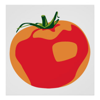 Big Red  Tomato Poster